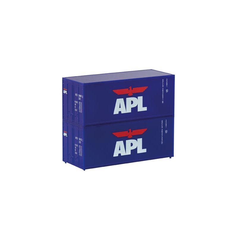Piko 46102 2er Set 20 Container APL