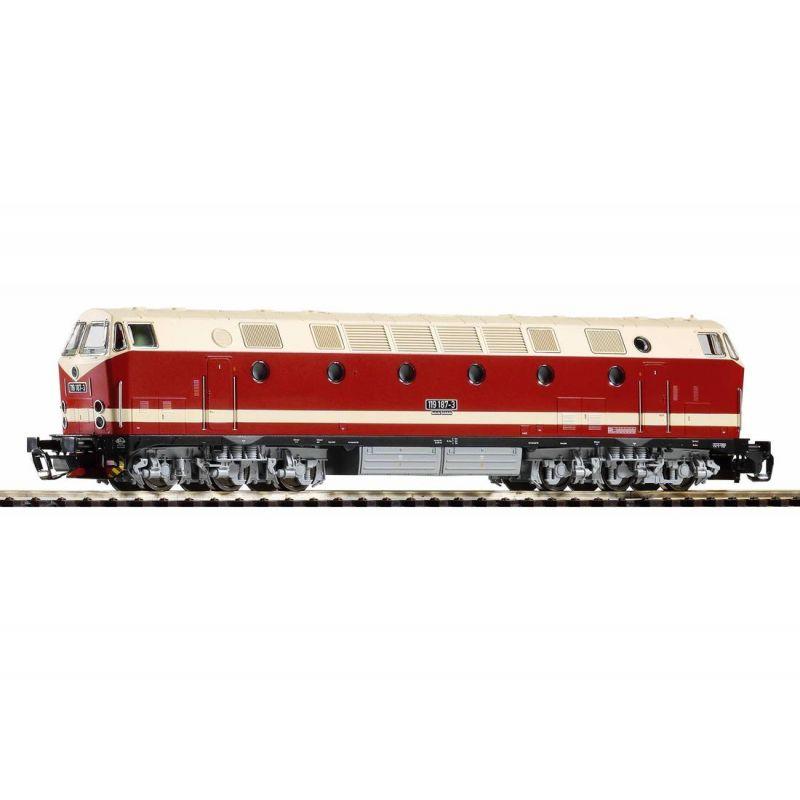 Piko 47345 TT-Dízel mozdony/Soundlok BR 119 DR IV, Licht unten + PluX Dec.