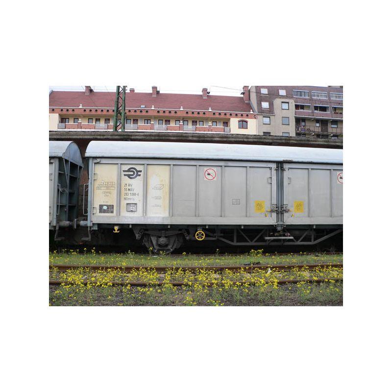 Piko 54417 Eltolható oldalfalú kocsipár Hillmrrs, MÁV V