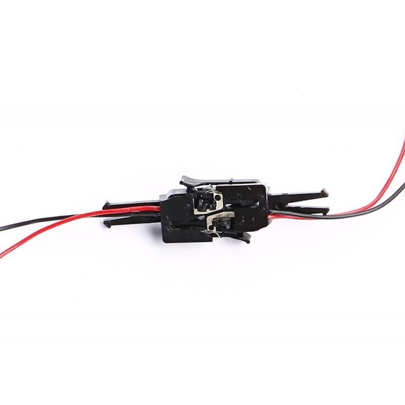 PIKO 56047 Kurzkupplung (közelkapcsoló) elektromos kapcsolattal, 2 db