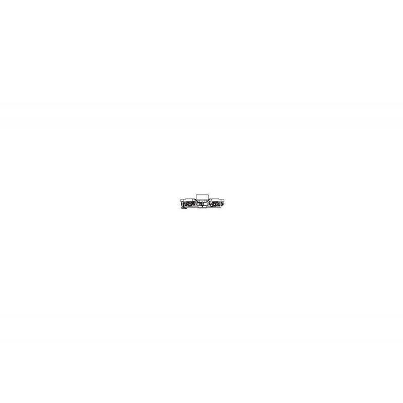 Piko 57580-10 Forgóváz keret ER20 Herkules dízelmozdonyhoz