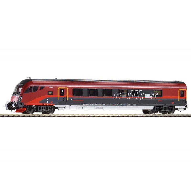Piko 57672 Vezérlőkocsi Railjet 1.o. Afmpz, ÖBB VI