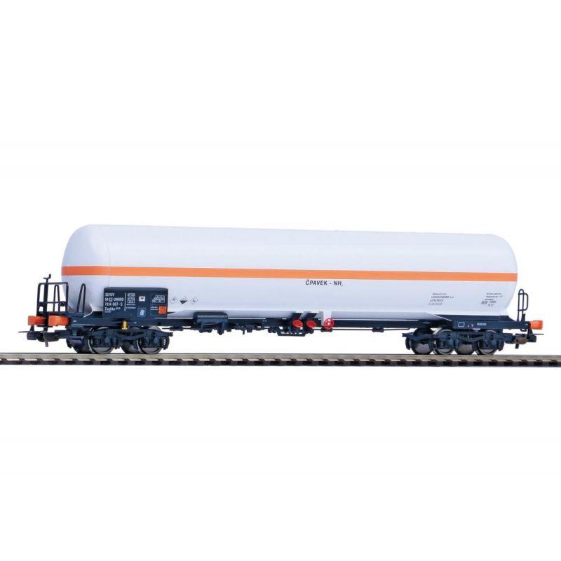 PIKO 58960 Nagynyomású gáztartálykocsi Zagkks, CD VI, napvédő tető nélkül