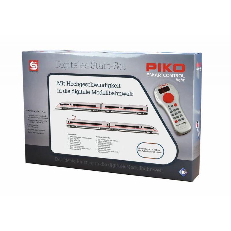 Piko 59006 SmartControl light Digitális kezdőkészlet ICE 3 motorvonat, DB AG VI