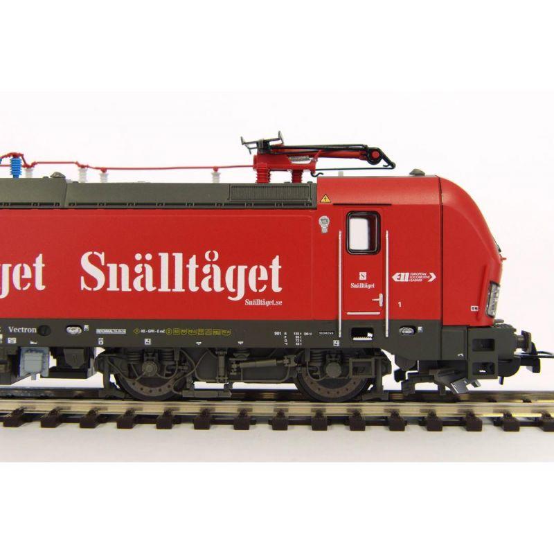 Piko 59180 Villanymozdony BR 193 255 Vectron, Transdev Sverige AB VI (kétáramszedős)