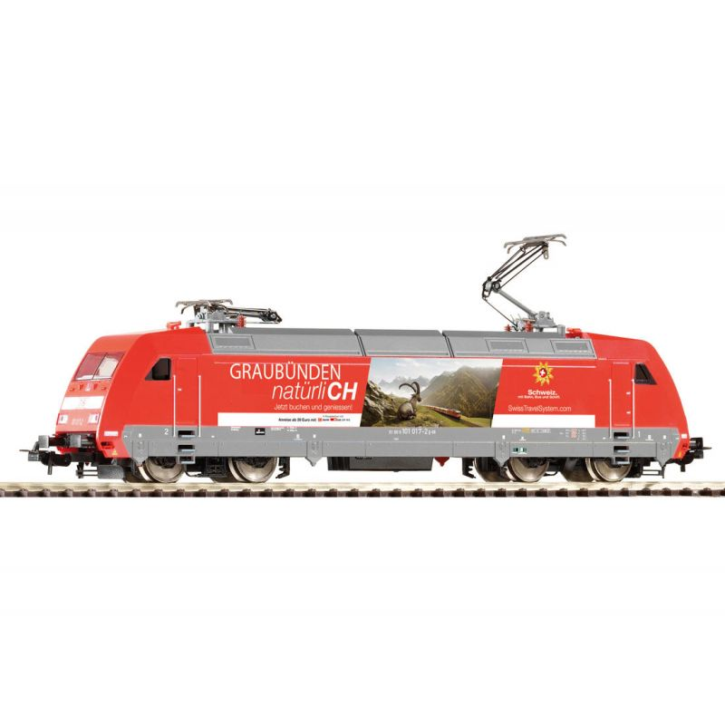 Piko 59456 Villanymozdony BR 101 017-2 Swisstravel Graubünden DB AG VI