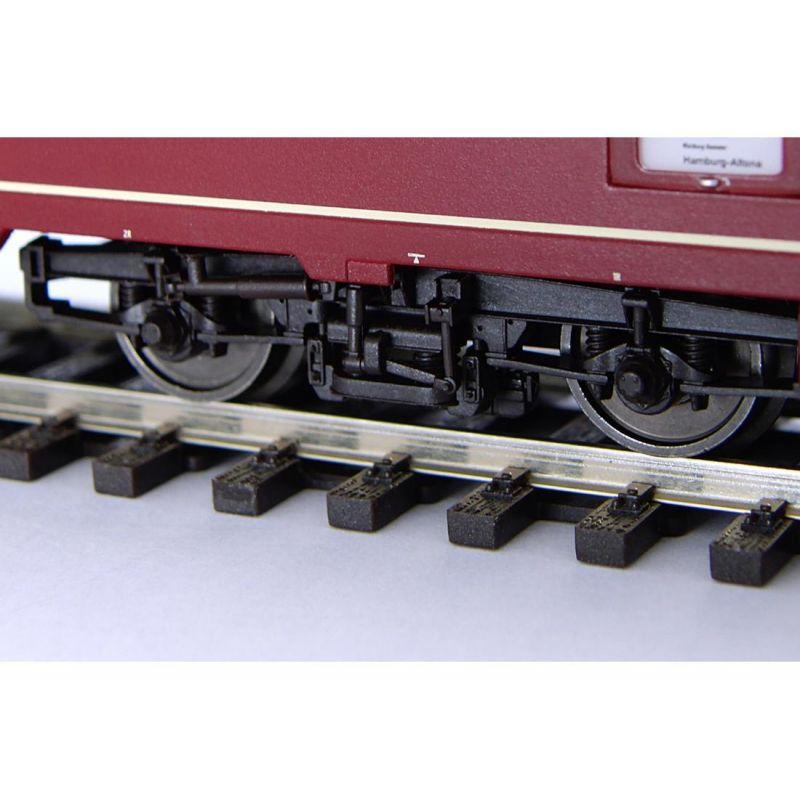 Piko 59661 Személykocsi 1.o. Apmz 121 IC, termes, DB IV