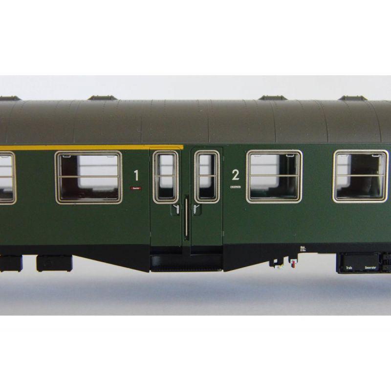 Piko 59681 Személykocsi 1/2.o. ABym, középajtós, DB IV