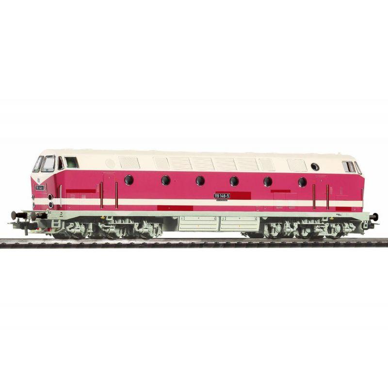 Piko 59941 Dízelmozdony BR 119 148-5, DR IV (alsó zárfényes)