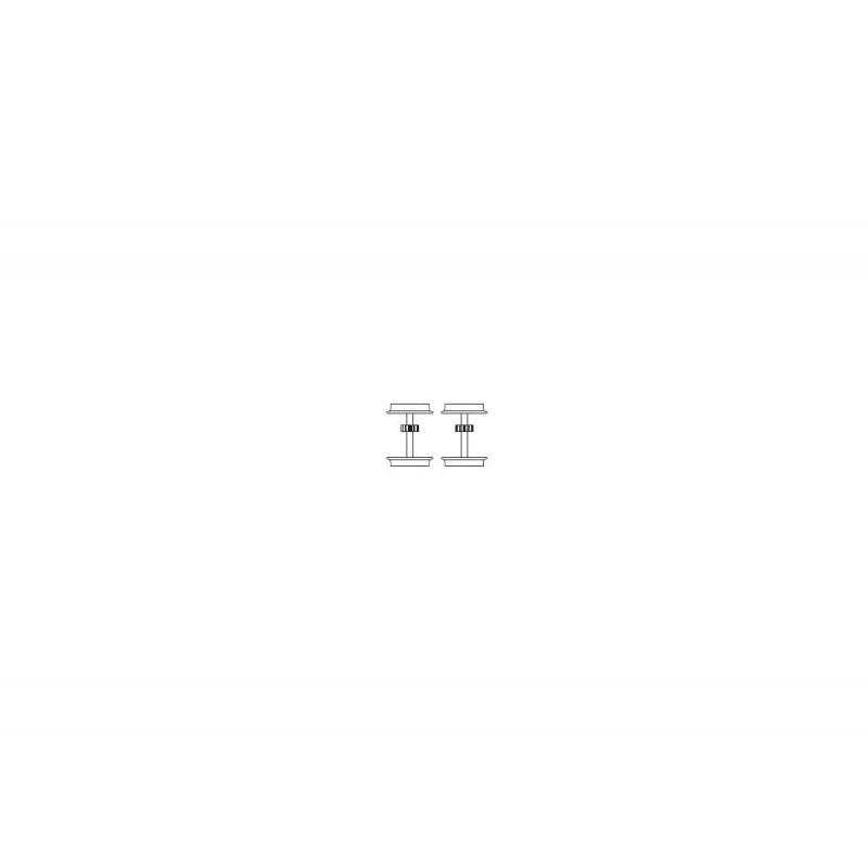 Piko 59971-65 Hajtókerék tapadógyűrű nélkül BR 193 Vectron villanymozdonyhoz (2db)