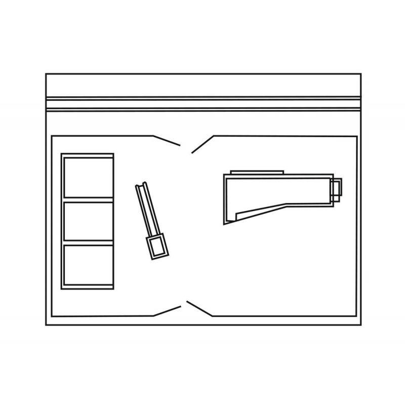 Piko 61153 Építőanyag kereskedés Tüzép alaprajz