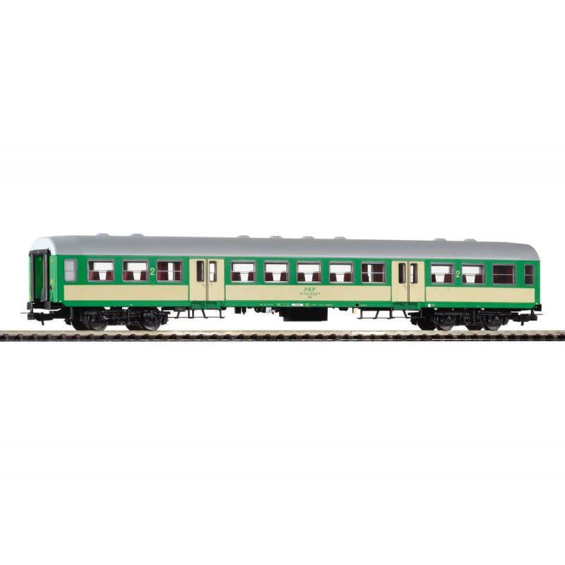 Piko 96651 Elővárosi személykocsi 2.o. Bh 007-7 120A, PKP V, 3. pályaszám