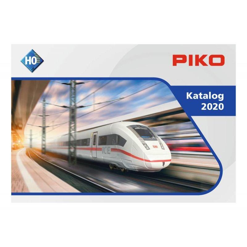 PIKO 99500D H0 Katalógus 2020, német nyelvű