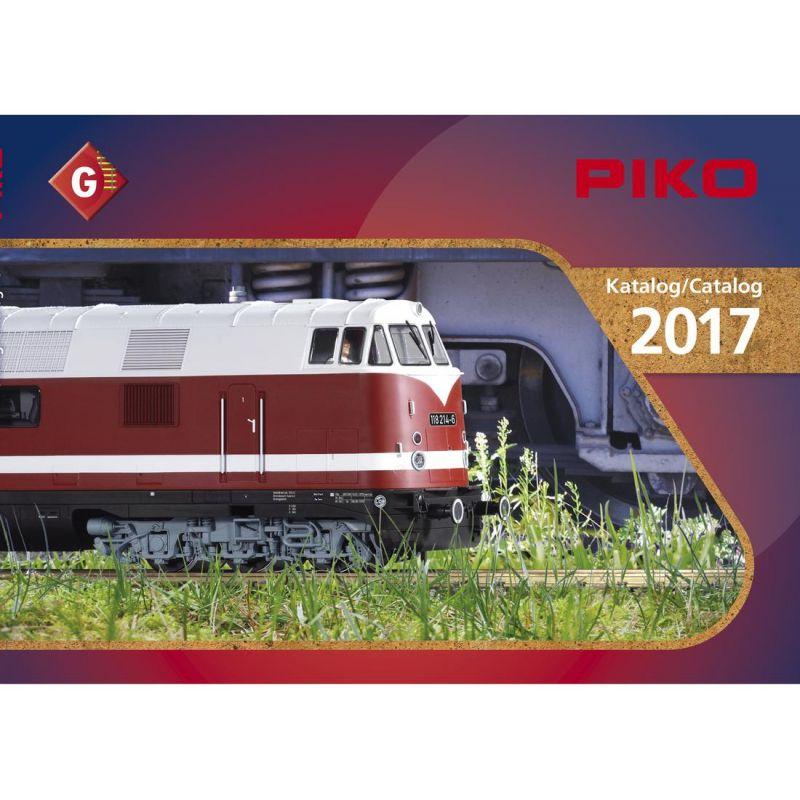 Piko 99705D Katalógus G kertivasút, 2017