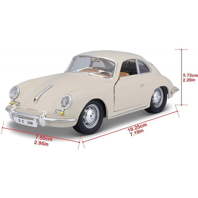 Bburago 22079 Porsche 356B Coupe (1961)