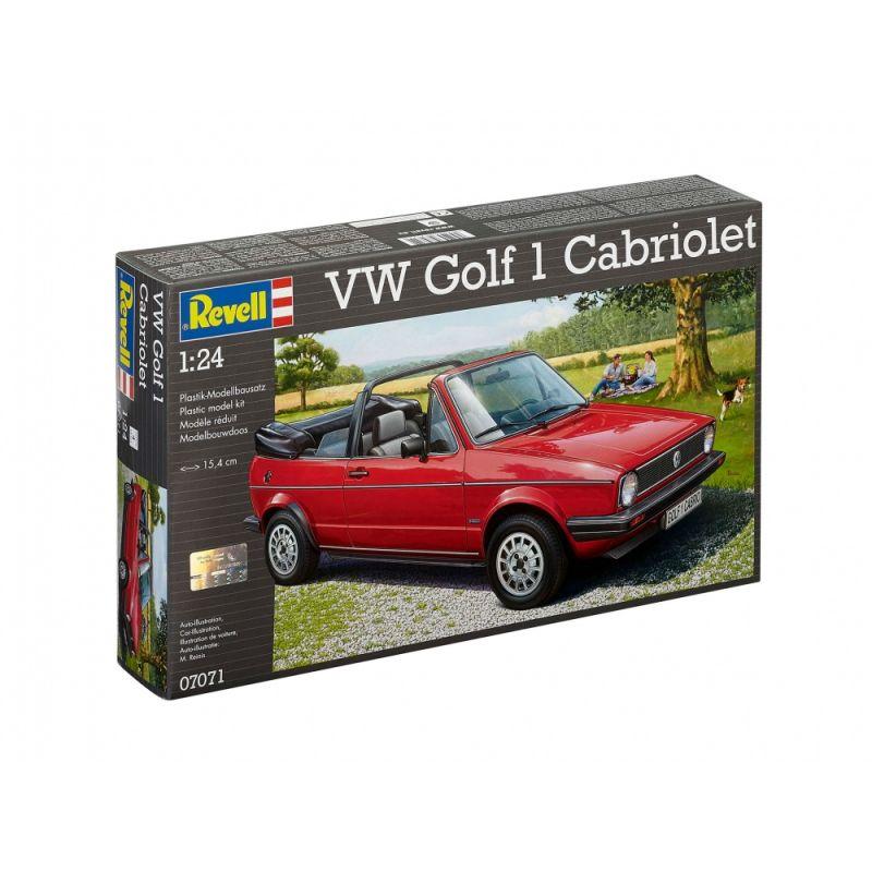 Revell 07071 VW Golf 1 Cabriolet