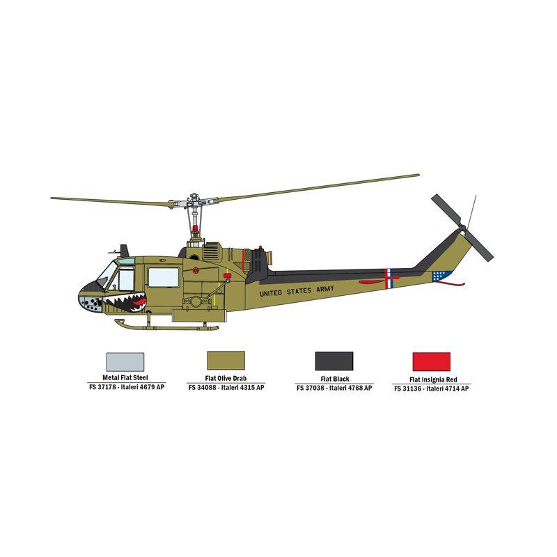 35103 Italeri Mi-24D / UH-1C 1:72