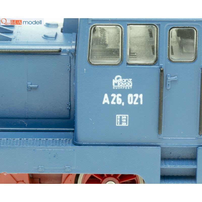 QuaBLA 11267 Dízelmozdony A26 021, GANZ MÁVAG IV