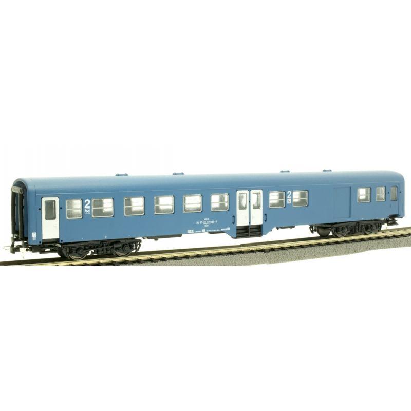 QuaBLA 21278Személykocsi poggyászszakasszal 2.o. BDh 031-9, MÁV IV