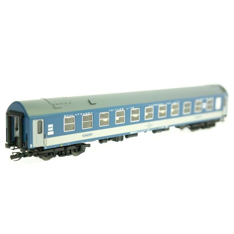 QuaBLA 71116 Hálókocsi WLAB, MÁV V, 1. pályaszám