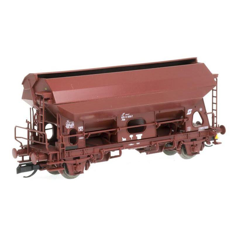 QuaBLA 81747 Önürítős kocsi Tds, MÁV V, 3326-7