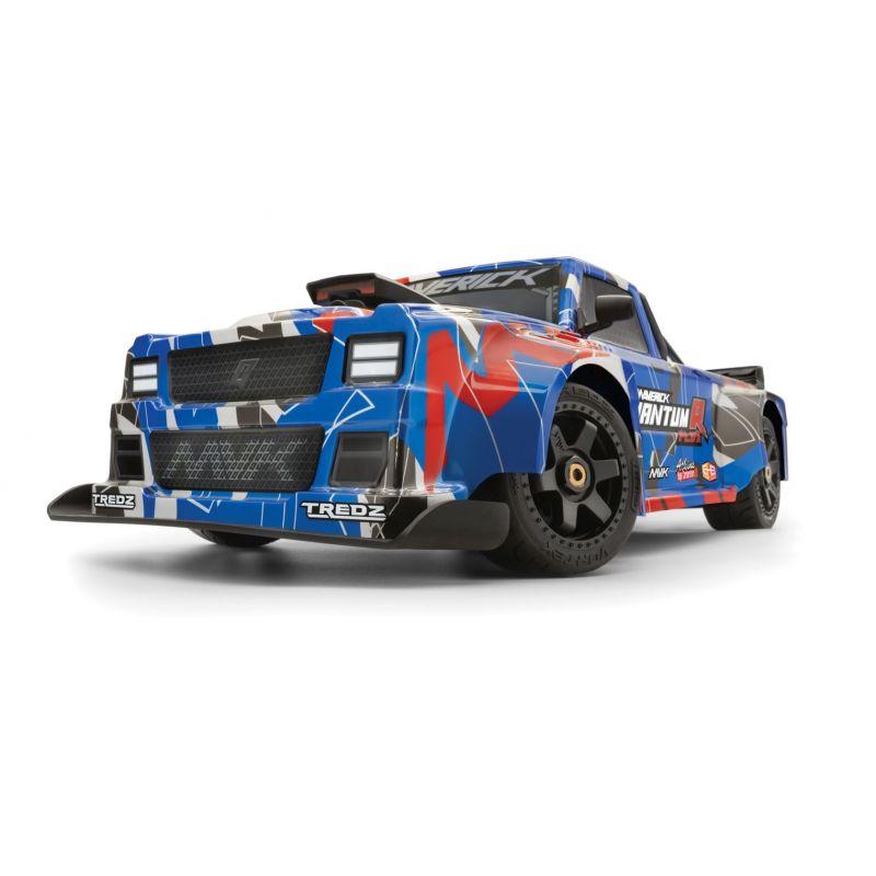 MV150312 QuantumR Flux 4S 1/8 4WD Race Truck - Blue/Red