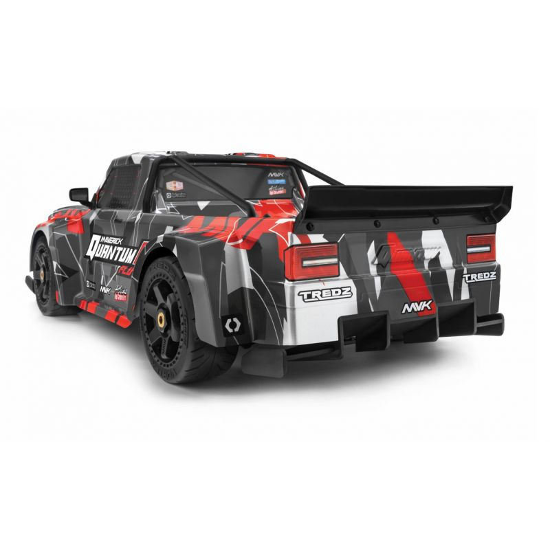 QuantumR Flux 4S 1/8 4WD Race Truck - Grey/Red