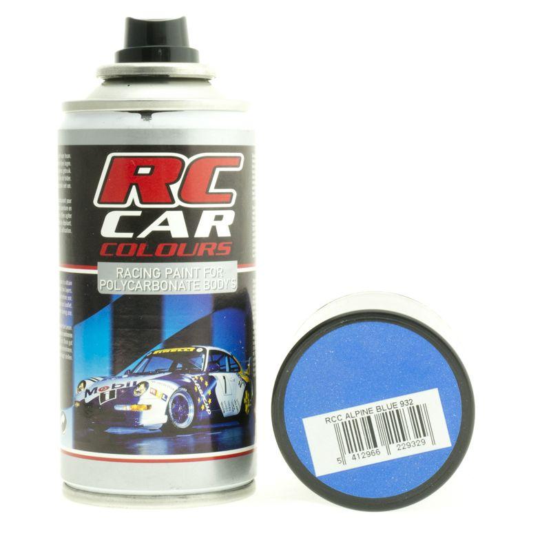 Rc auto karosszéria festék alpine kék