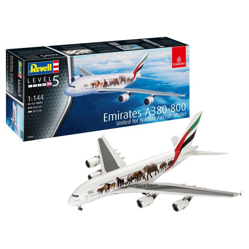 Revell 03882 Airbus A380-800 Emirates Wild L