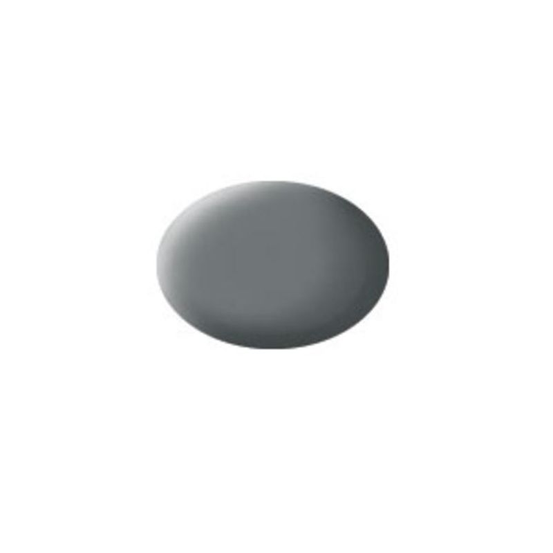 Revell 36147 Aqua mouse szürke matt makett festék