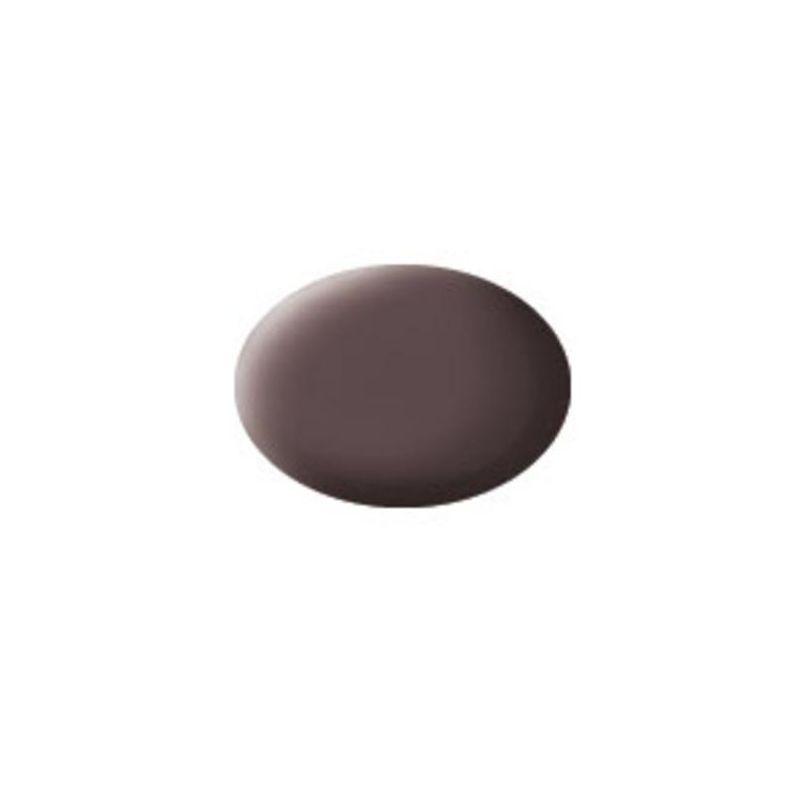 Revell 36184 Aqua leather barna matt makett festék
