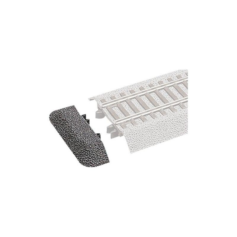 Roco 42651 RocoLine gumiágyazataos sínvég (záróelem), 6 db