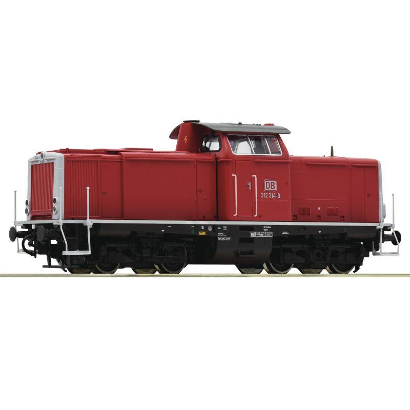 Roco 52525Dízelmozdony BR 212 314-9, DB AG V, hangdekóderrel