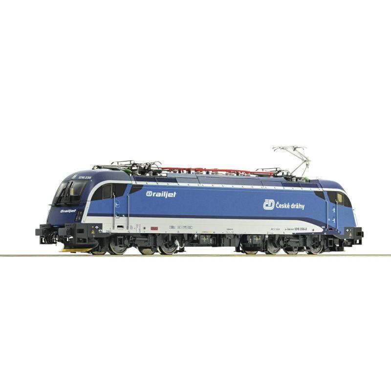 Roco 70487 Villanymozdony Rh 1216 236-0 Railjet Taurus, CD VI