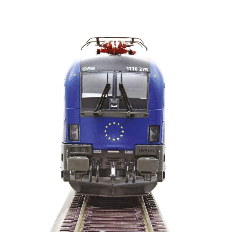 Roco 70502 Villanymozdony Rh 1116 276-7 Taurus, 25 Jahre Österreich in der EU, ÖBB VI, hangdekóderrel