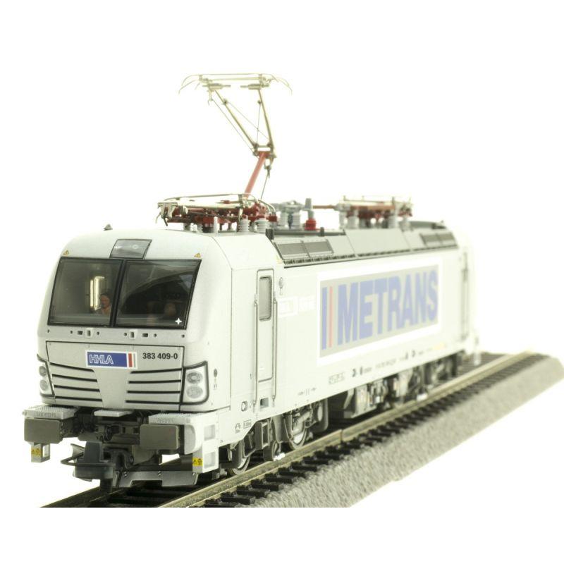 Roco 71947Villanymozdony BR 383 409-0 Vectron, Metrans VI, hangdekóderrel