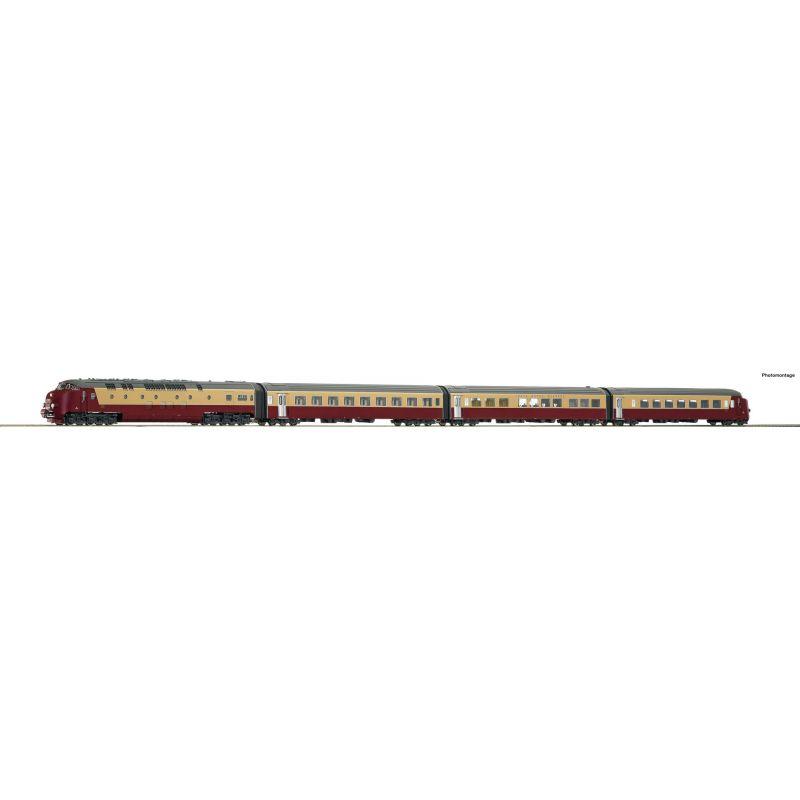 Roco 72068 Dízel motorvonat TEE, DE IV, NS III-IV