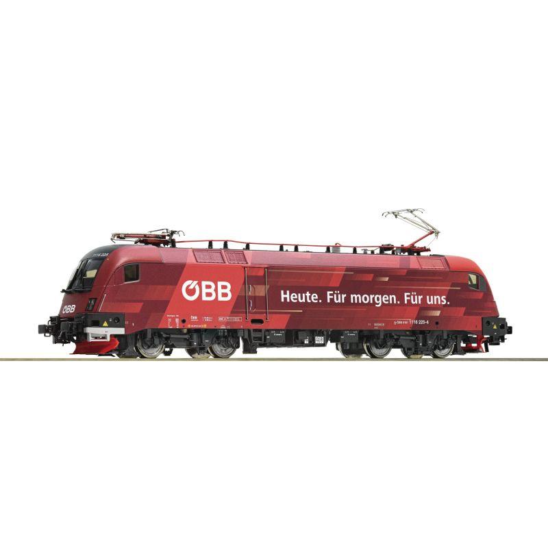 Roco 73267 Villanymozdony Rh 1116 225-4 Railjet Taurus, ÖBB VI, hangdekóderrel