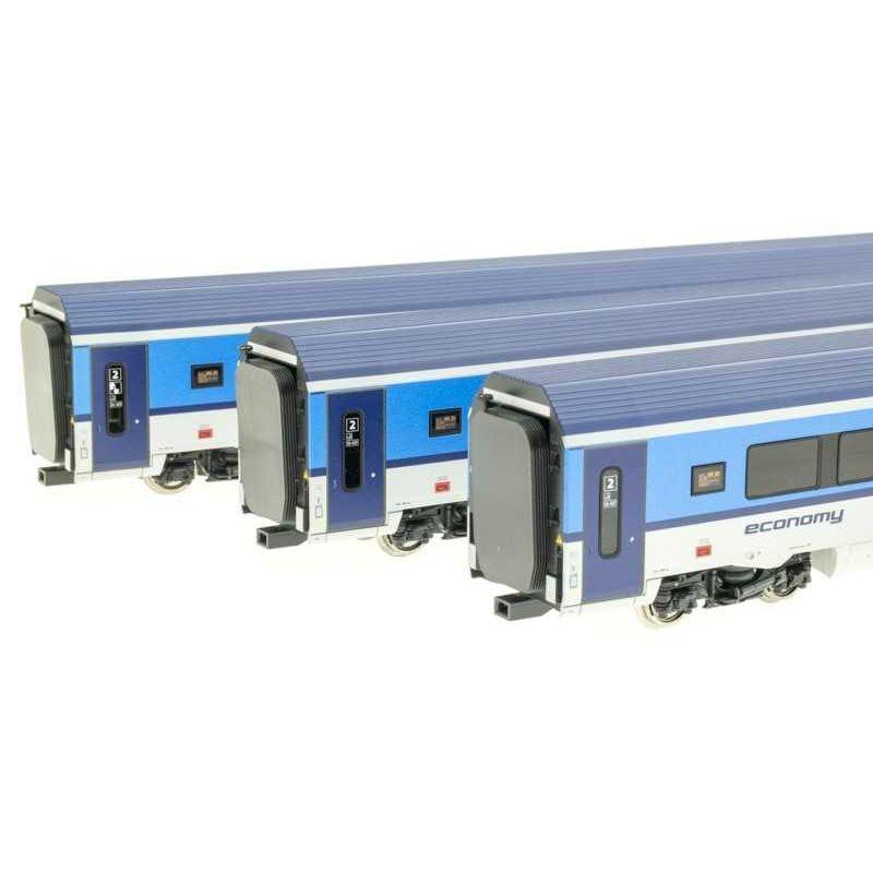 Roco 74139 Személykocsi szett Railjet, CD VI