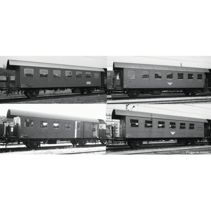 Roco 74162 Személykocsi szett spantenwagen, ÖBB III