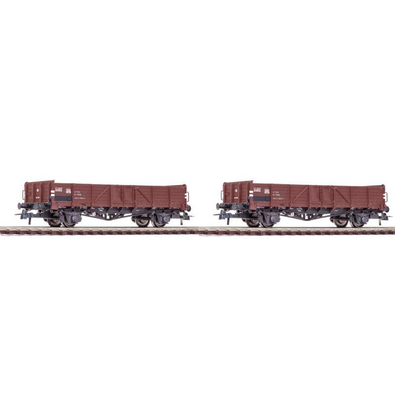 Roco 76112 Nyitott teherkocsi szett  Ommr EL 5100 Linz-dizájn ÖBB IV
