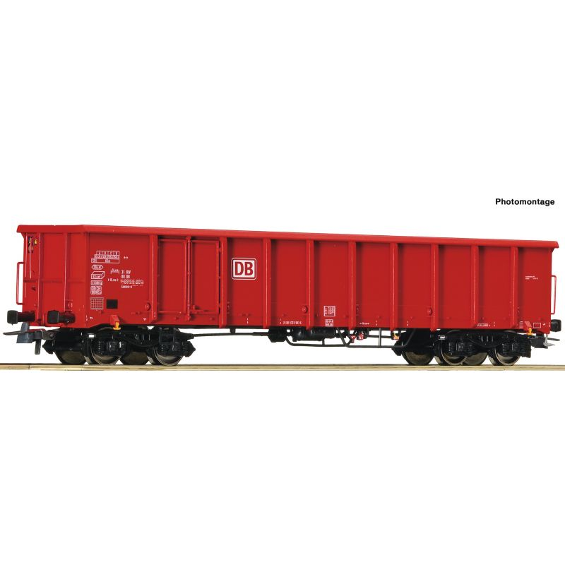 Roco 76940 Off.Güterwagen 4a. DB-AG