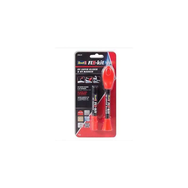 Revell 39625 FIX-Kit UV ragasztó