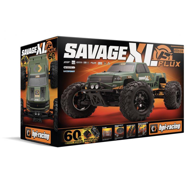 HPI 160095 Savage XL Flux GTXL-1