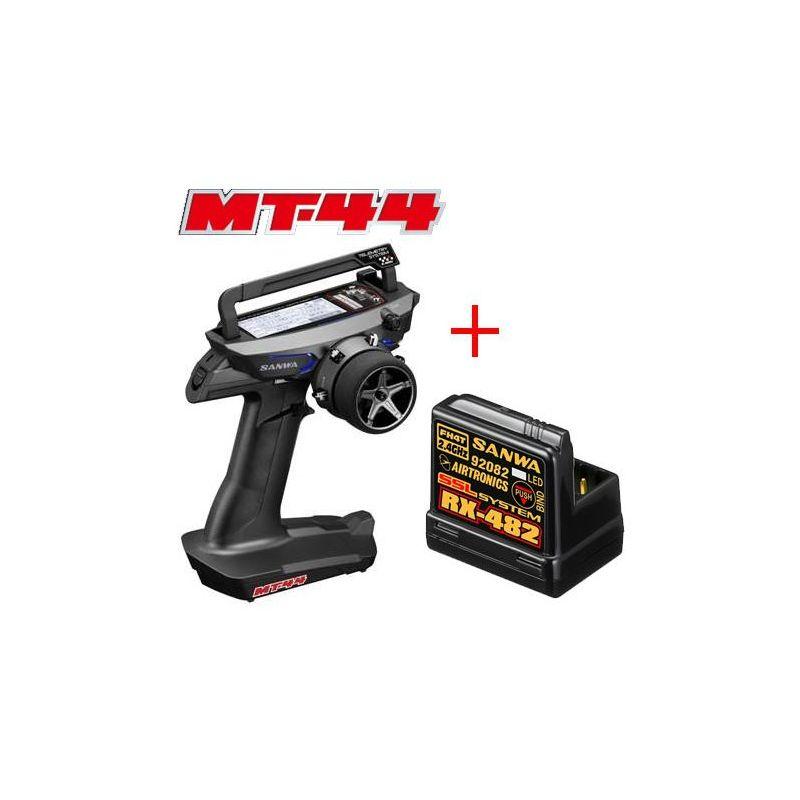 Sanwa MT-44 pisztoly rádió RX-482 vevővel