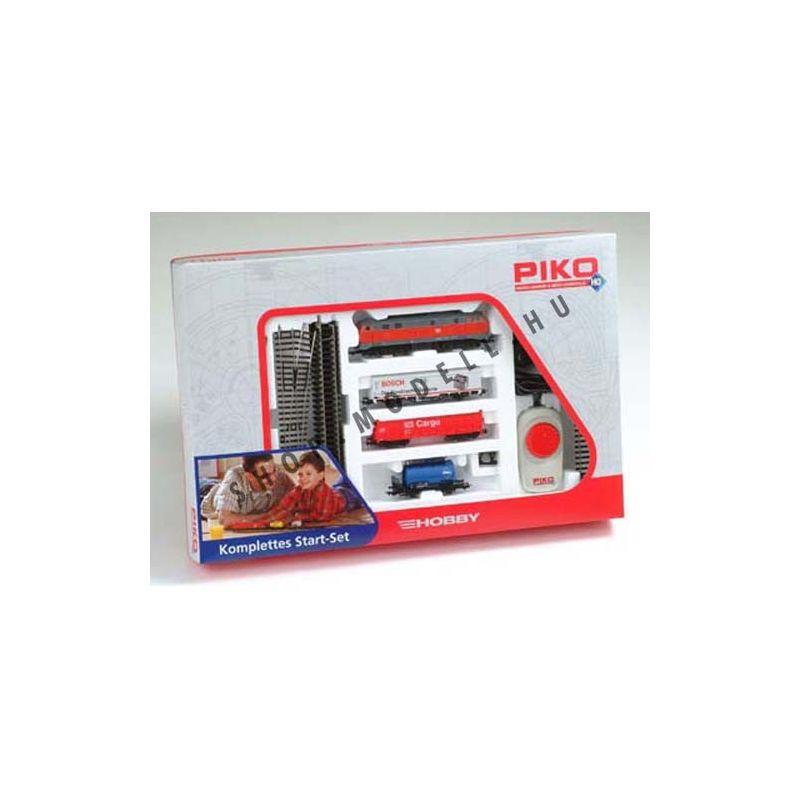 Piko 57151 Startszett BR 218 dízelmozdony teherkocsikkal DB
