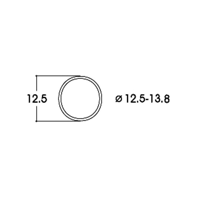 Roco 40066 Tapadógyűrű 12,5-13,8 mm 10 db