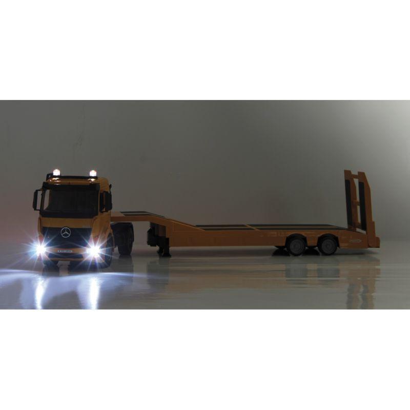 JAMARA 405107 Távirányítós MB nehézgép szállító kamion