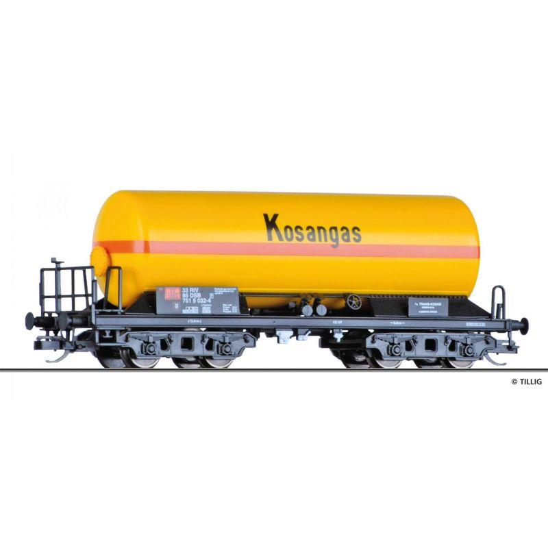 Tillig 15011 Tartálykocsi gázszállító, Kosangas, DSBIV