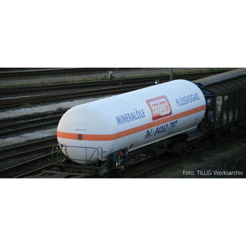 """Tillig 15030 Tartálykocsi gázszállító """"Hoyer KG"""" DB AG V"""